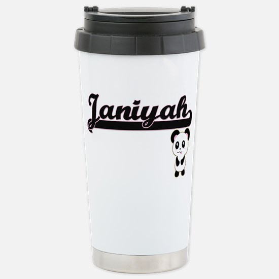 Janiyah Classic Retro N Stainless Steel Travel Mug