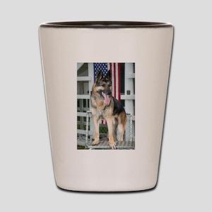 German Shepherd Dog Shot Glass