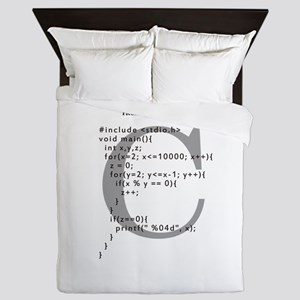Program to calculate the prime numbers Queen Duvet