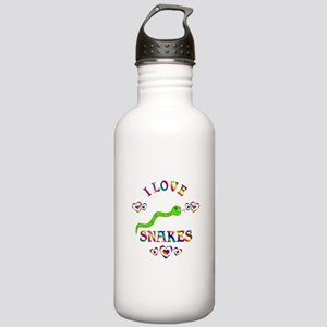 I Love Snakes Stainless Water Bottle 1.0L