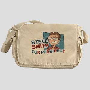 Steve Smith for President Messenger Bag