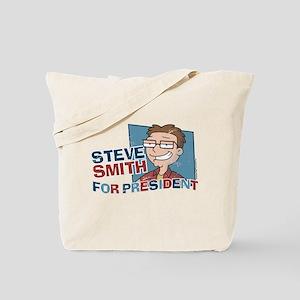 Steve Smith for President Tote Bag