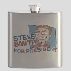 Steve Smith for President Flask