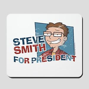 Steve Smith for President Mousepad