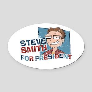 Steve Smith for President Oval Car Magnet