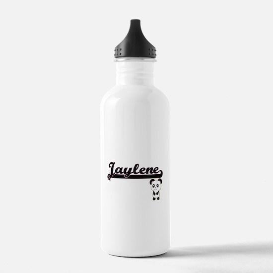 Jaylene Classic Retro Water Bottle