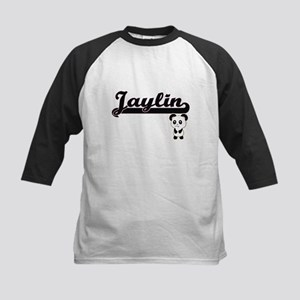 Jaylin Classic Retro Name Design w Baseball Jersey