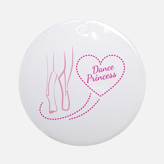 Dance princess Ornament (Round)