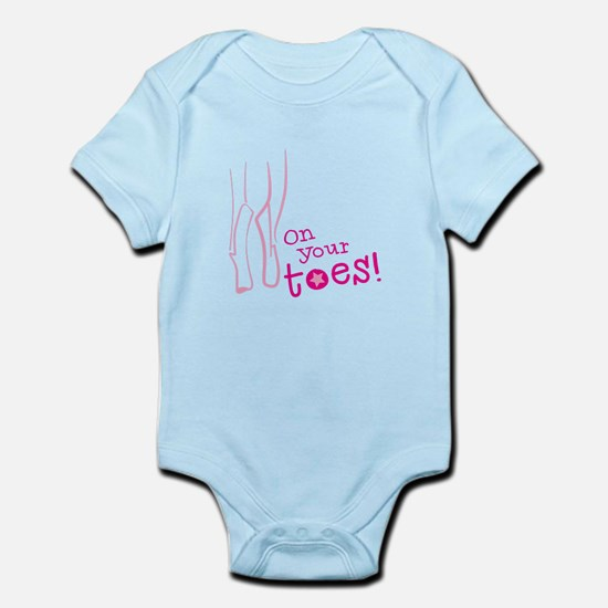 On your toes ballet Body Suit
