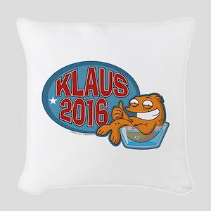 Klaus 2016 Woven Throw Pillow