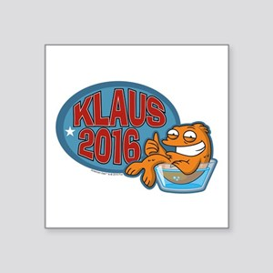 "Klaus 2016 Square Sticker 3"" x 3"""