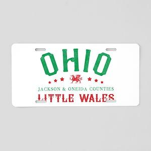 Little Wales Ohio Welsh Aluminum License Plate