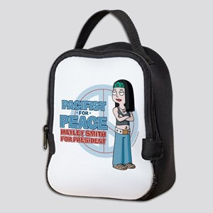 Pacifist for Peace Hayley Smith Neoprene Lunch Bag