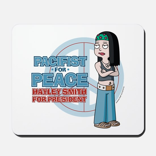 Pacifist for Peace Hayley Smith Mousepad