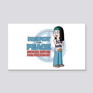 Pacifist for Peace Hayley Smi Rectangle Car Magnet