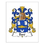 Dore Family Crest Small Poster