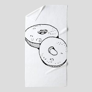 Bagel Beach Towel