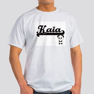 Kaia Classic Retro Name Design with Panda T-Shirt