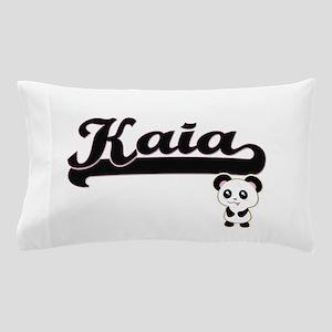 Kaia Classic Retro Name Design with Pa Pillow Case