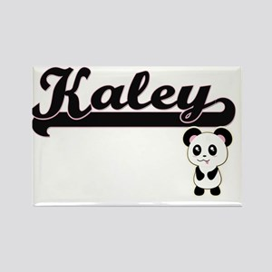 Kaley Classic Retro Name Design with Panda Magnets