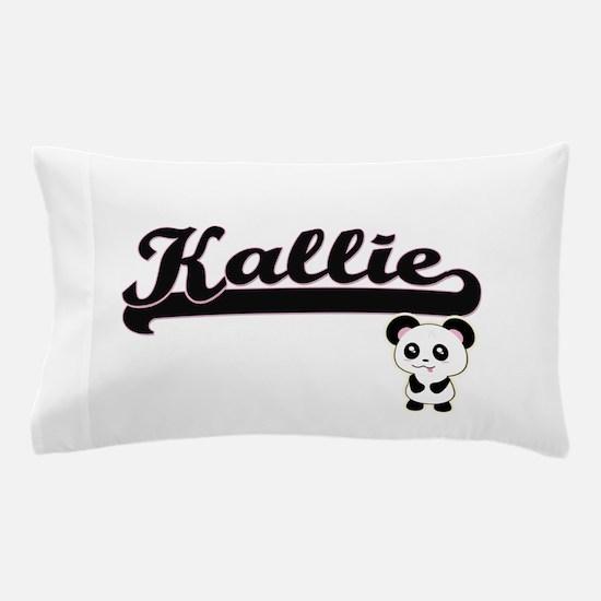 Kallie Classic Retro Name Design with Pillow Case