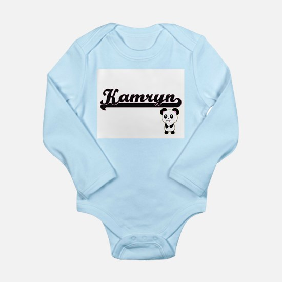 Kamryn Classic Retro Name Design with Pa Body Suit