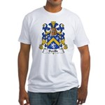 Deville Family Crest Fitted T-Shirt