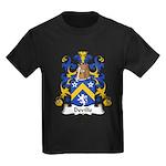 Deville Family Crest Kids Dark T-Shirt