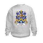 Deville Family Crest Kids Sweatshirt