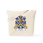 Deville Family Crest Tote Bag