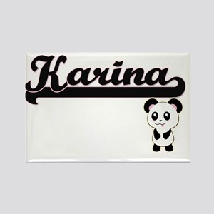 Karina Classic Retro Name Design with Pand Magnets