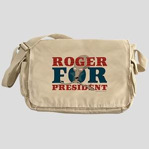 Roger for President Messenger Bag