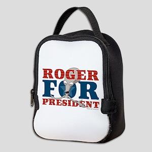 Roger for President Neoprene Lunch Bag