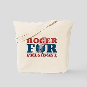 Roger for President Tote Bag
