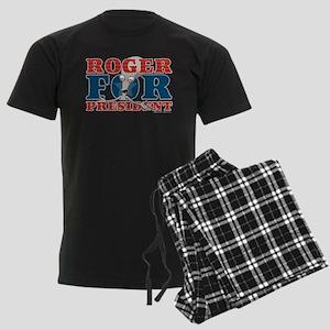 Roger for President Men's Dark Pajamas