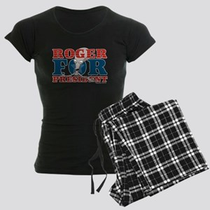 Roger for President Women's Dark Pajamas