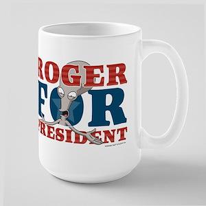Roger for President Large Mug