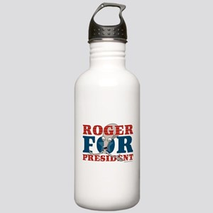 Roger for President Stainless Water Bottle 1.0L