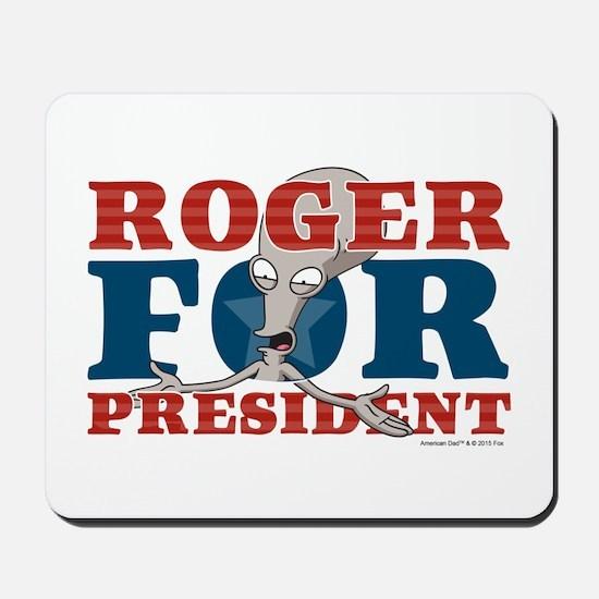 Roger for President Mousepad