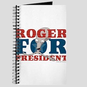 Roger for President Journal