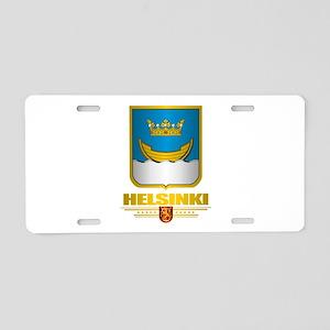 Helsinki Aluminum License Plate