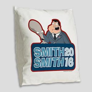 Smith Smith 2016 Burlap Throw Pillow