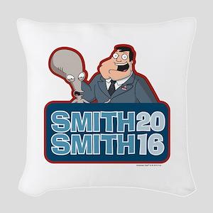 Smith Smith 2016 Woven Throw Pillow