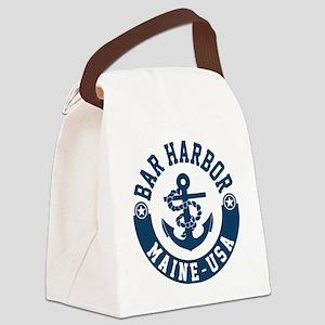 Bar Harbor Canvas Lunch Bag