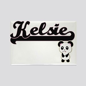 Kelsie Classic Retro Name Design with Pand Magnets