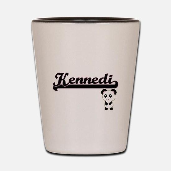 Kennedi Classic Retro Name Design with Shot Glass