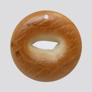 Bagel Ornament (Round)