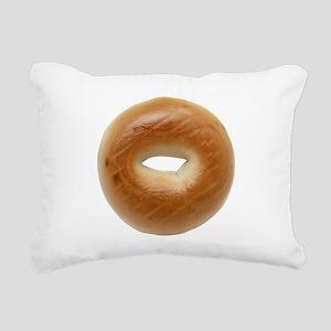 Bagel Rectangular Canvas Pillow