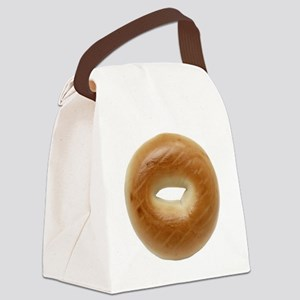 Bagel Canvas Lunch Bag
