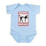 Warning: Ninjas Infant Bodysuit